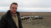 Canadian Royalties' chairman and CEO Glenn Mullan in Quebec's Ungava region in 2007. Photo by Susan Kirwin