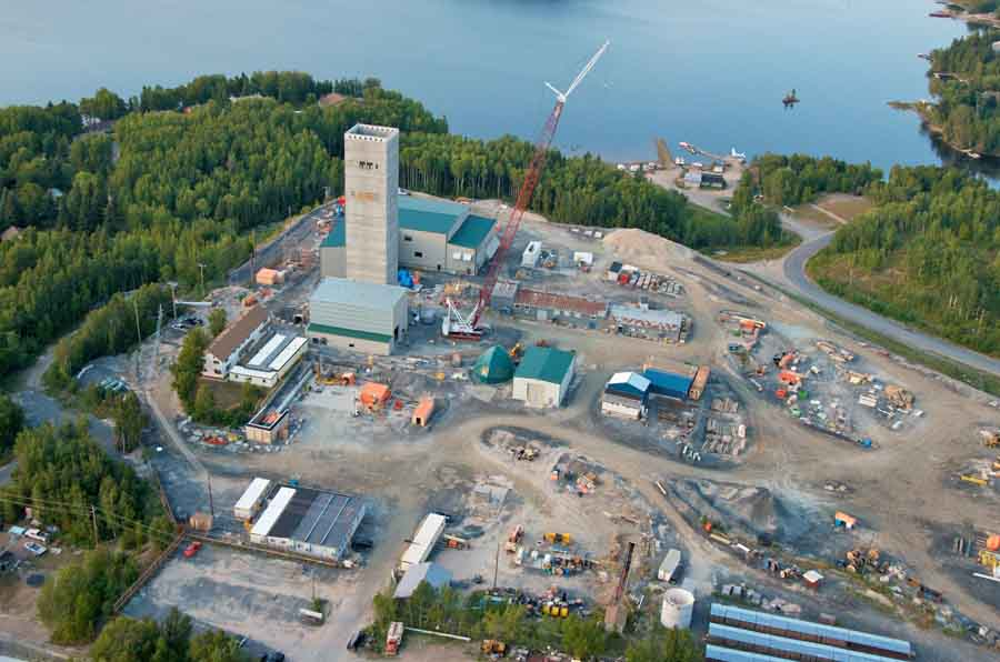Goldcorp's Red Lake gold mine in Red Lake, Ontario. Photo by Goldcorp
