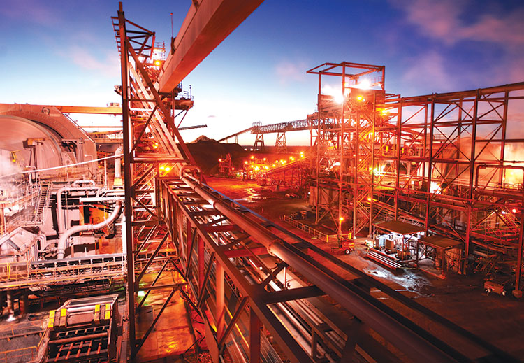 Facilities at BHP Billiton's Olympic Dam copper-uranium-gold mine in South Australia, where the company has delayed a US$30-billion expansion amid rising capital costs. Source: BHP Billiton