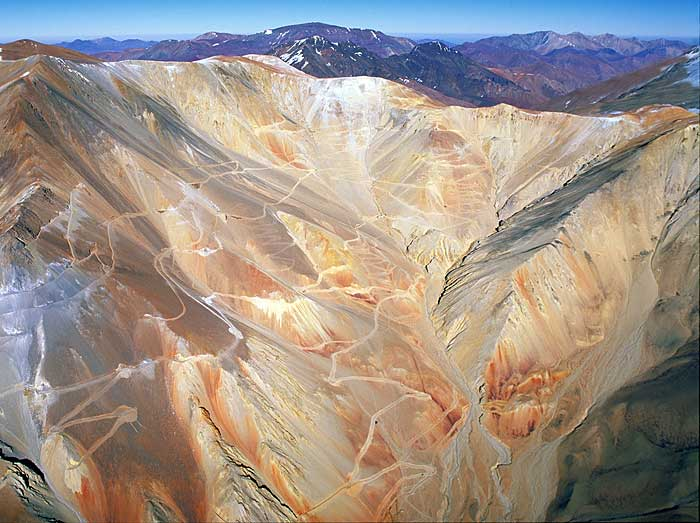 Barrick Gold's Pascua-Lama gold project on the Chile-Argentina border. Source: Barrick Gold