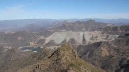Coeur Mining's Palmarejo gold-silver mine, 420 km southwest of the city of Chihuahua, Mexico. Credit: Coeur Mining