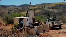 A drill site at Cayden Resources' El Barqueno gold project in Jalisco, Mexico. Credit: Cayden Resources