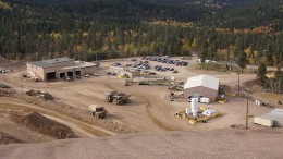 Coeur Mining's newly bought Wharf gold-silver mine, 7 km west of the city of Lead in western South Dakota. Credit: Coeur Mining