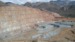 SilverCrest Mines' Santa Elena gold-silver mine in Mexico's Sonora State. Sandstorm Gold has a gold stream agreement to buy 20% of the mine's gold production.  Credit: SilverCrest Mines
