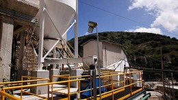 Processing facilities at Endeavour Silver's El Cubo silver mine in Guanajuato, Mexico.  Credit:  Endeavour Silver