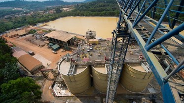 Processing facilities at Golden Star Resources' Wassa gold mine in Ghana. Credit: Golden Star Resources