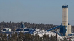 The Young-Davidson gold mine in northern Ontario's Abitibi greenstone belt. Source: Alamos Gold.