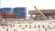 Processing facilities at Nevsun's Bisha gold mine in Eritrea, under construction in 2010. The company is being sued in Canada for allegedly using forced labour at the site. Photo by The Northern Miner.