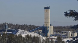 The Young-Davidson gold mine, 60 km west of Kirkland Lake in northern Ontario. AuRico has participated in a financing with PearTree Financial. Credit: AuRico Gold