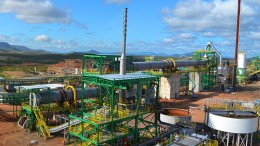 Largo Resources' Maracas vanadium mine in Brazil, where Anglo Pacific Group holds a 2% net smelter return royalty.  Source: Largo Resources'