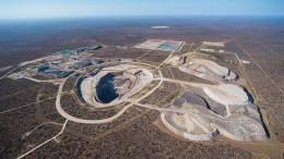 An aerial view of Lucara Diamond's Karowe diamond mine in Botswana, which could produce 350,000 to 400,000 carats in 2015. Credit: Lucara Diamond