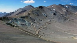 NGEx Resources' Filo del Sol silver-copper-gold exploration project in western Argentina's San Juan province, 140 km southeast of the city of Copiapo, Chile.Credit:  NGEx Resources