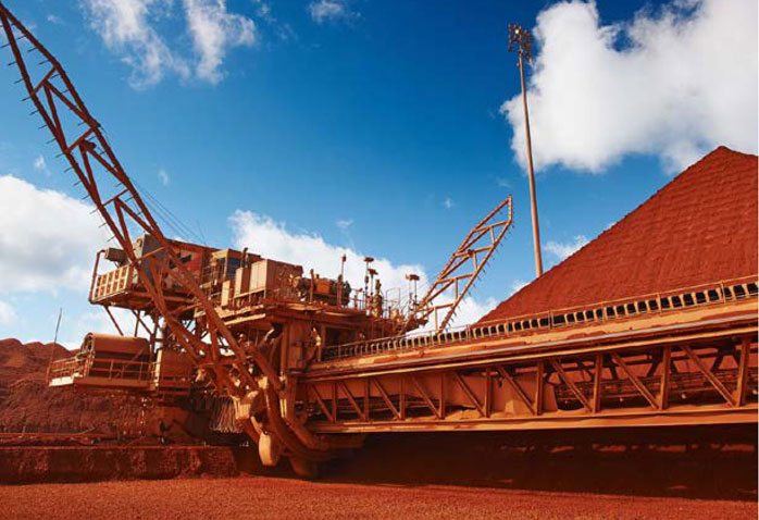 Processing facilities at South32's Worsley Alumina project, one of the largest and lowest cost bauxite mining and alumina refining operations in the world. Credit: South32