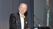 Pierre Lassonde  served as the evening's master of ceremonies. Credit: Keith Houghton Photography