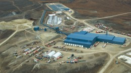 Kinross Gold's Kupol gold mine in the Chukotka region of Russia's Far East. Credit: Kinross Gold