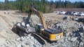 Surface work at Integra Gold's Lamaque gold project in Val-d'Or, Quebec. Credit: Integra Gold