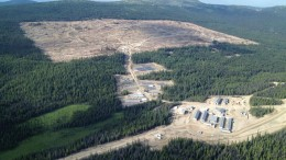 An aerial view of New Gold's Blackwater gold project, 160 km southwest of Prince George, British Columbia.Credit: New Gold
