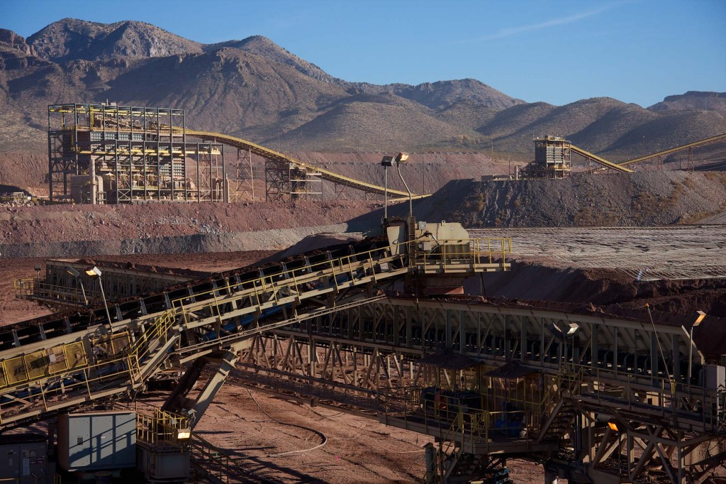 In 2015, copper production at Safford amounted to 202 million lb. and as of Dec. 31, 2015, more than 700 people were employed there. Credit: Freeport-McMoRan