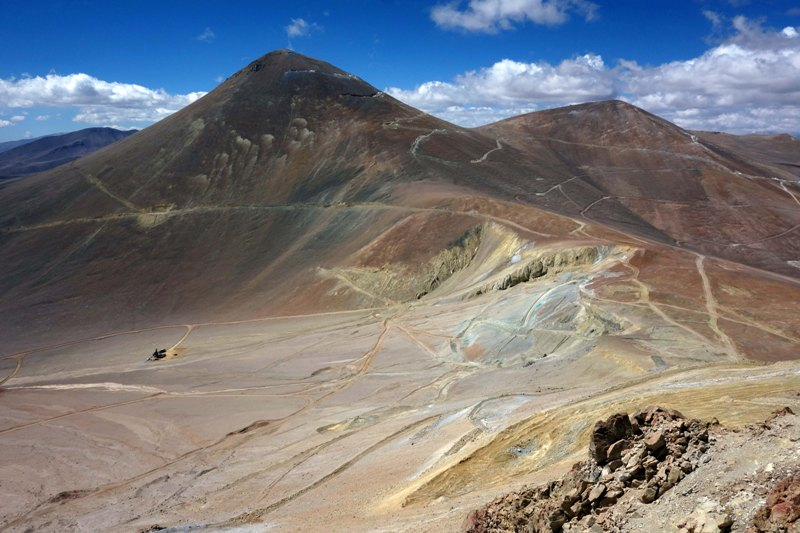 NGEx Resources' Filo del Sol copper-gold porphyry deposit in Chile. Credit: NGEx Resources