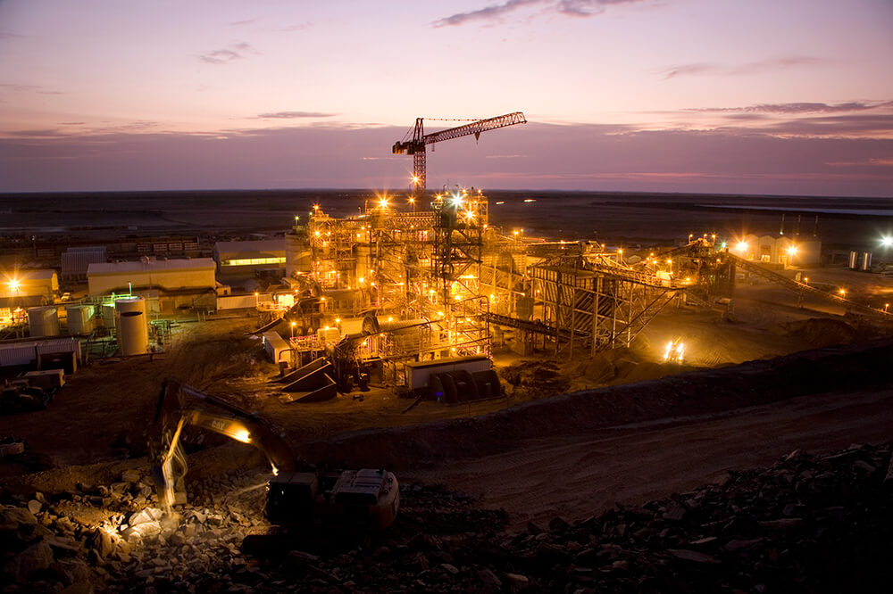 The Tasiast gold mine lies 300 km north of the capital city of Nouakchott in Mauritania, West Africa. Credit: Kinross Gold.