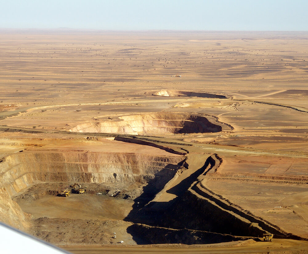 Tasiast open pit operations. Credit: Kinross Gold.