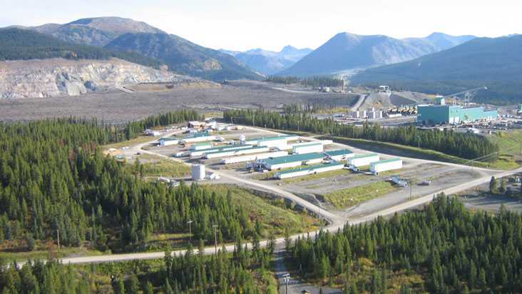Kemess Infrastructure and Mine Site. Credit: AuRico Metals.