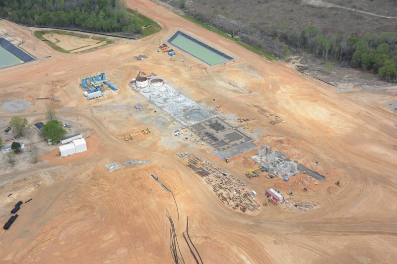 OceanaGold's Haile gold project under construction in South Carolina is expected to start production in early 2017. Credit: OceanaGold