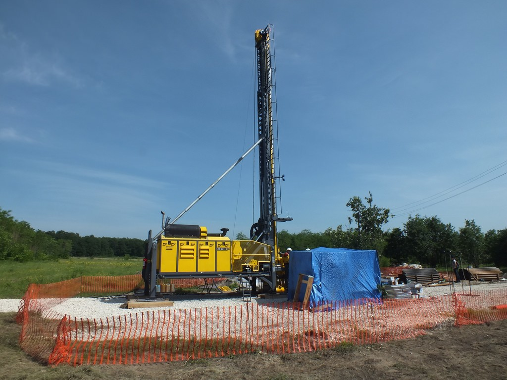 Drilling at the Timok project. Credlt: Reservoir Minerals.