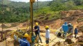 A drill crew at Cordoba Minerals' San Matias copper-gold project in northern Colombia. Credit: Cordoba Minerals.