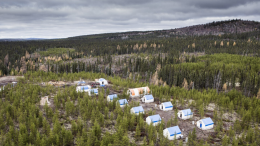 Exploration camp in the James Bay region of Quebec. Credit: Sirios Resources.