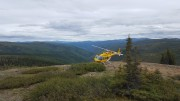 The Northern Miner visits Kaminak Gold's Coffee project in the Yukon. Credit: Matthew Keevil
