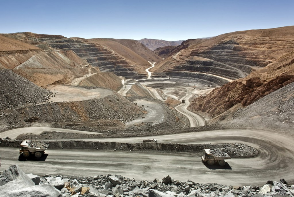 The San Miguel open pit at Silver Standard Resources' Pirquitas mine, northern Argentina. Credit: Silver Standard.