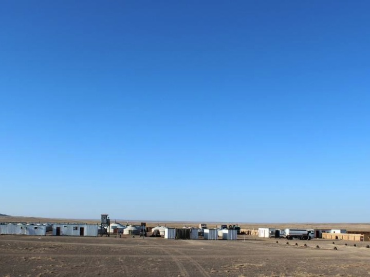 HPX's exploration camp in Mongolia. Credit: Kincora Copper.