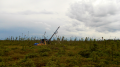 A drill site in the Bug Lake zone at Balmoral Resources' Martiniere gold property in Quebec's Abitibi greenstone belt.  Credit: Balmoral Resources