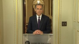 Bank of England Governor Mark Carney responds to the Brexit vote on June 24, 2016.