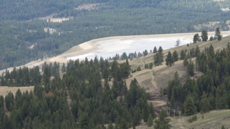 View from the Oversight property towards Kinross Gold's Kettle River Mill in Washington State. Credit: Adamera Minerals.