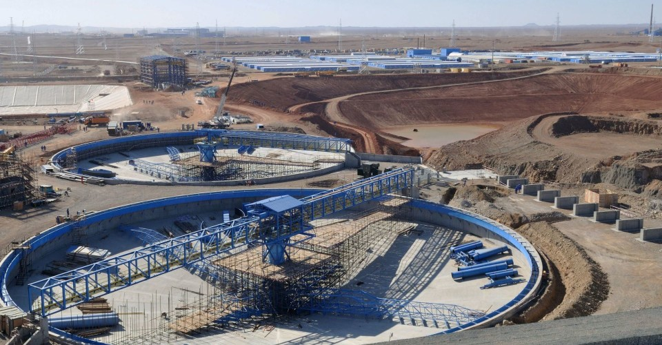 The massive Oyu Tolgoi copper-gold operation in Mongolia. Credit: Rio Tinto.
