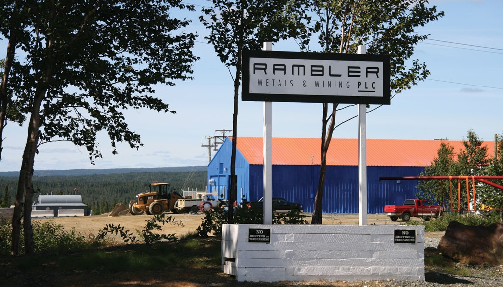 Rambler Metals and Mining's Ming copper-gold in north-central Newfoundland. Credit: Rambler Metals and Mining.
