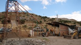A head frame at Southern Silver Exploration's Cerro Las Minitas project. Credit: Southern Silver Exploration.