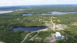 Pure Gold Mining's Madsen gold project in Ontario's Red Lake gold camp. Credit: Pure Gold Mining.