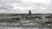 The Horne 5 polymetallic deposit sits below the past-producing Horne mine (above), which was operated by Noranda from 1926 to 1976 in Rouyn-Noranda, Quebec. Credit: Falco Resources.