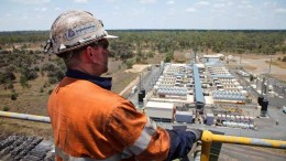 Overlooking the power station at Anglo American's Moranbah North metallurgical coal mine in Queensland, Australia. Credit: Anglo American.