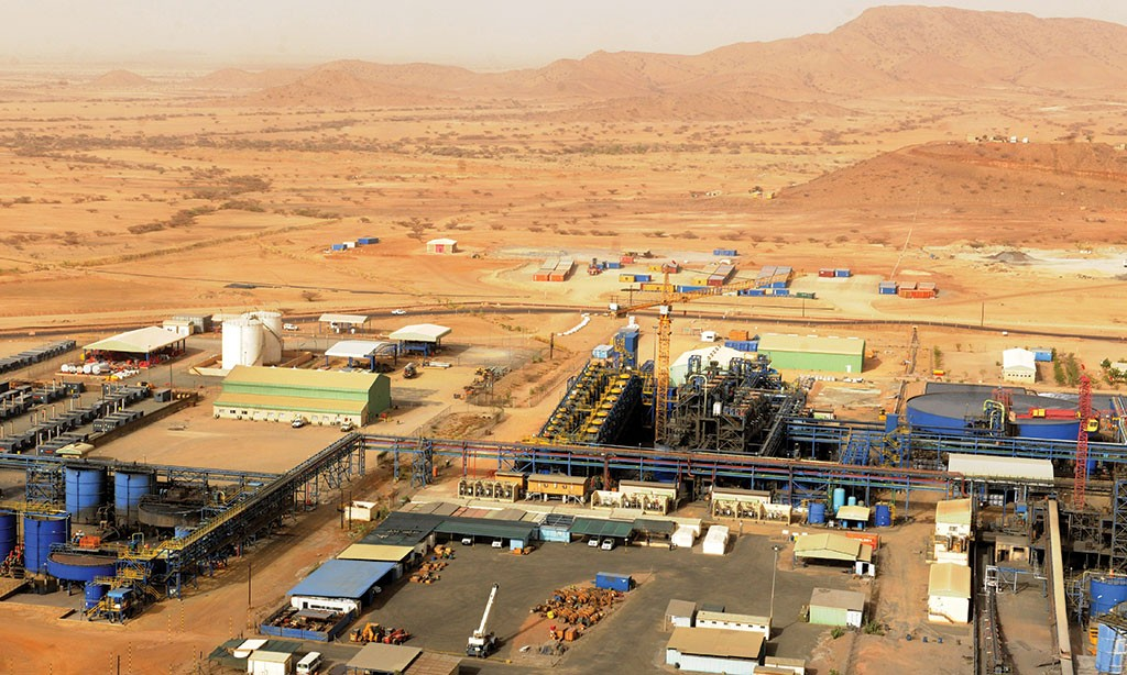 Nevsun Resources' Bisha copper-zinc mine in Eritrea, 150 km west of the capital Asmara. Credit: Nevsun Resources.