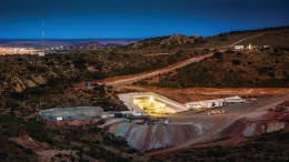 The portal at MAG Silver and Fresnillo's Juanicipio high-grade silver project in Mexico's Zacatecas state. Credit: MAG Silver.