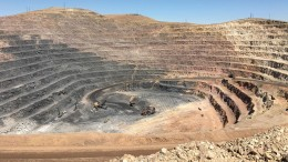 Premier Gold Mines' 40%-owned South Arturo gold mine in Nevada — a joint-venture with Barrick Gold — which saw its first gold pour in August. Credit: Premier Gold Mines.