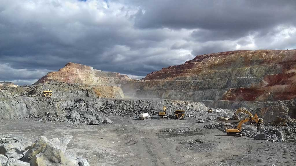 Open-pit operations at Atalaya Mining's Proyecto Riotinto in southern Spain. Credit: Atalaya Mining.