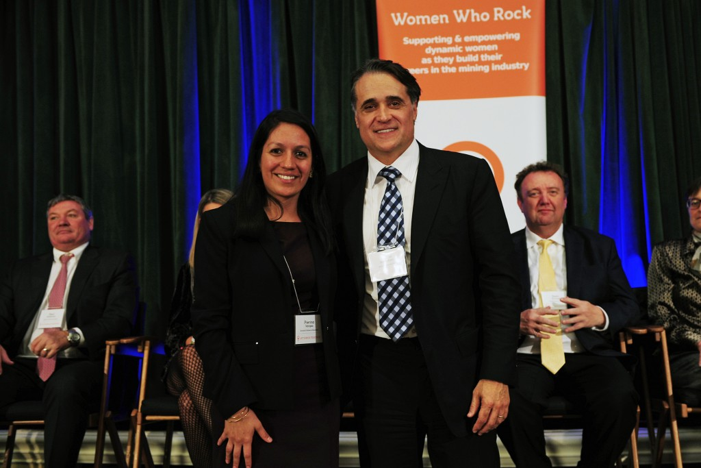 Pierina Vargas and Egizio Bianchini at Women Who Rock's Auction for Action in early 2016. Credit: Women Who Rock.