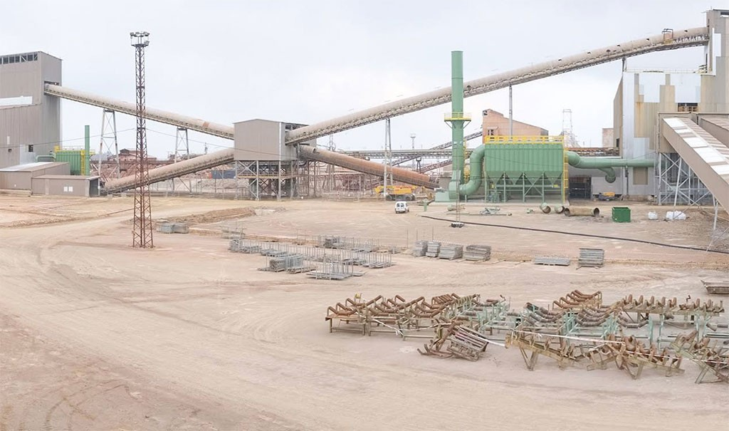 Processing facilities at Atalaya Mining's Proyecto Riotinto project. Credit: Atalaya Mining.