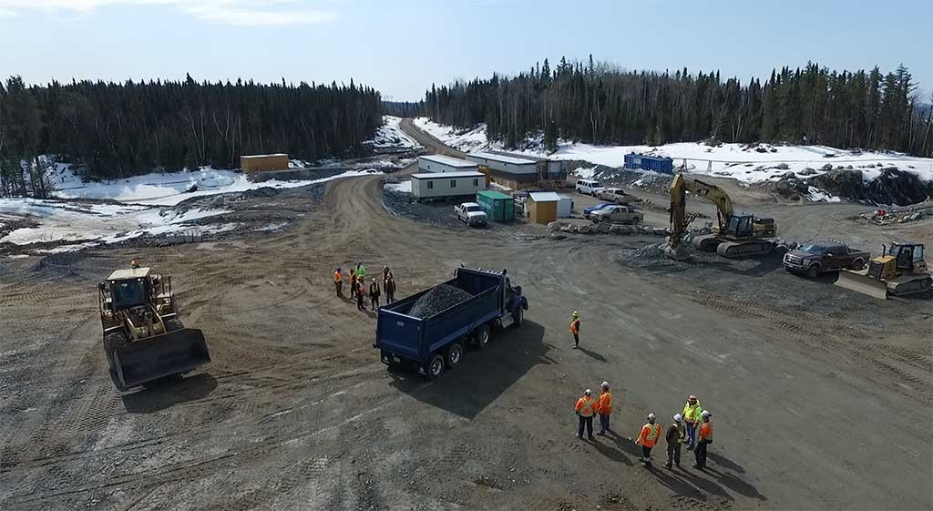 Harte Gold's Sugar project in northern Ontario. Credit: Harte Gold.