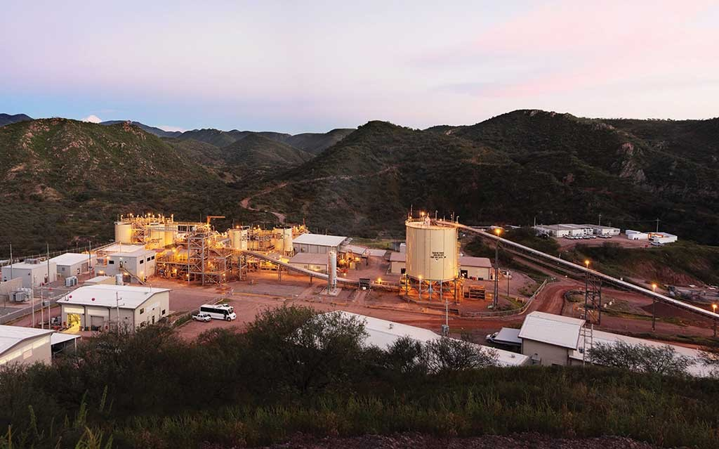 Premier Gold Mines' Mercedes gold-silver mine in northern Mexico. Credit: Premier Gold Mines.